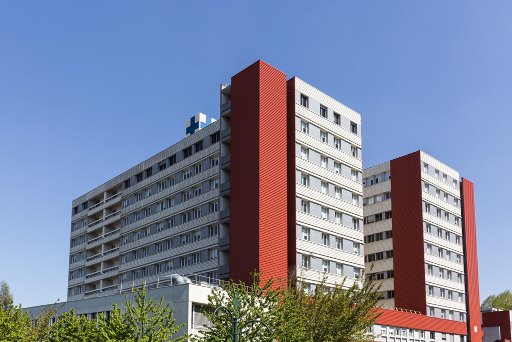 Hopital, Longjumeau, France.