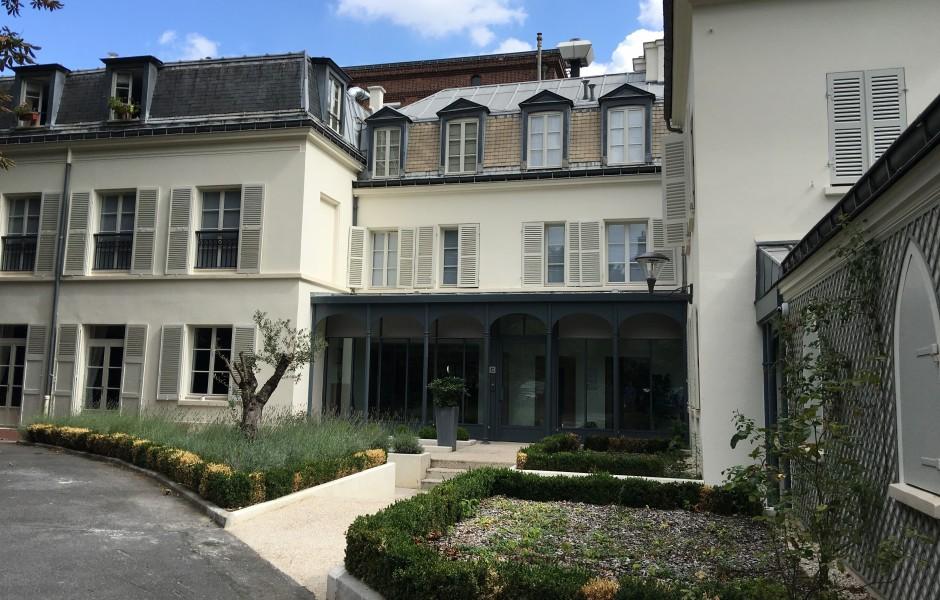 hotel particulier pavillon sainte marie paris axys. Black Bedroom Furniture Sets. Home Design Ideas