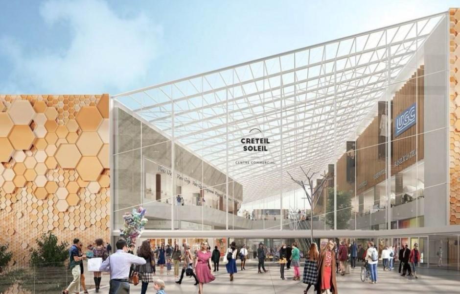 Commerces extension du centre commercial cr teil soleil - Centre commercial creteil soleil cabinet medical ...